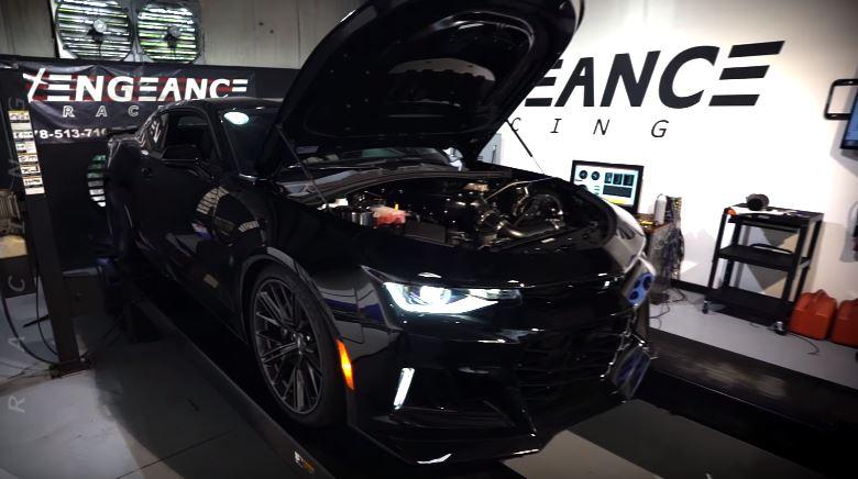 World S First 1 200 Hp 2017 Chevrolet Camaro