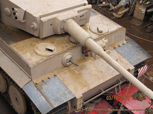 world war ii tiger i tank replica build  photo gallery
