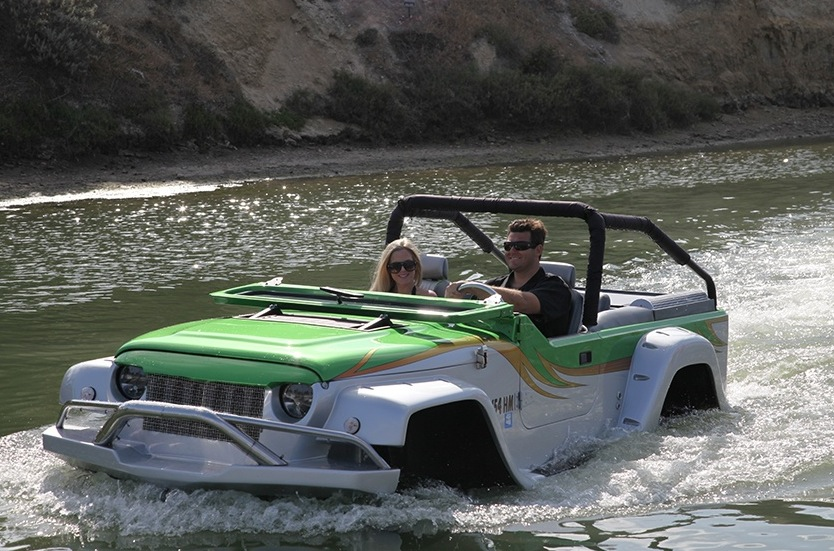 World S Fastest Amphibious Car Is Powered By A 300 Hp