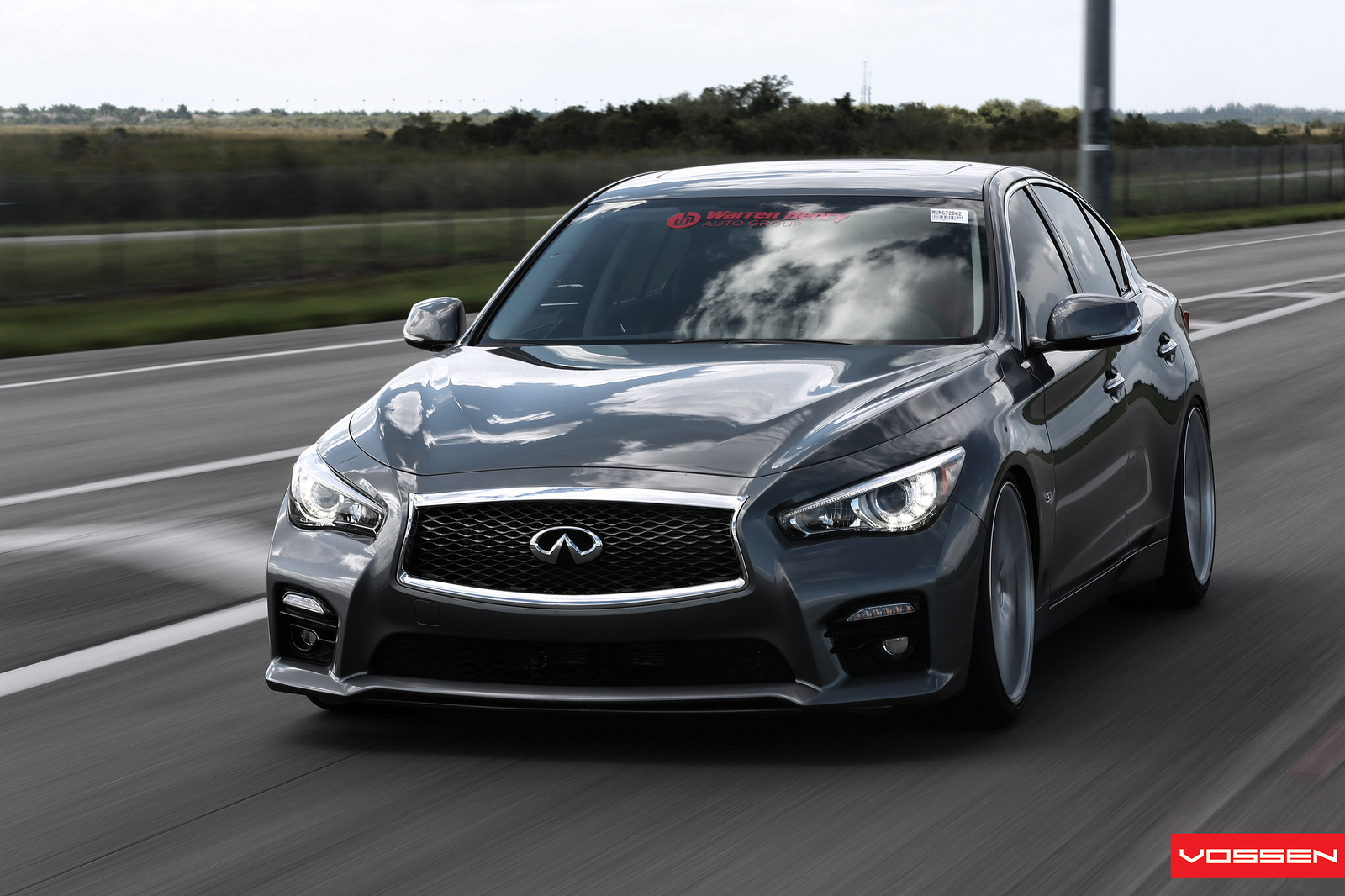 World's First Modified 2014 Infiniti Q50 S Gets Vossen ...