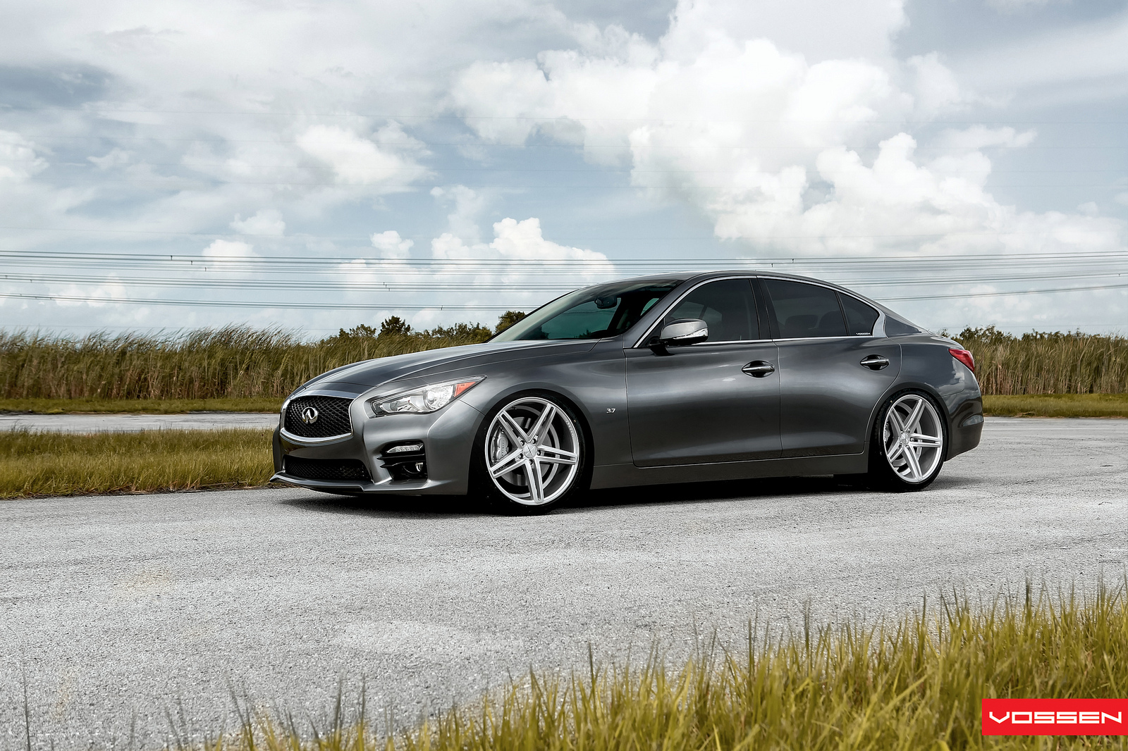 World S First Modified 2014 Infiniti Q50 S Gets Vossen