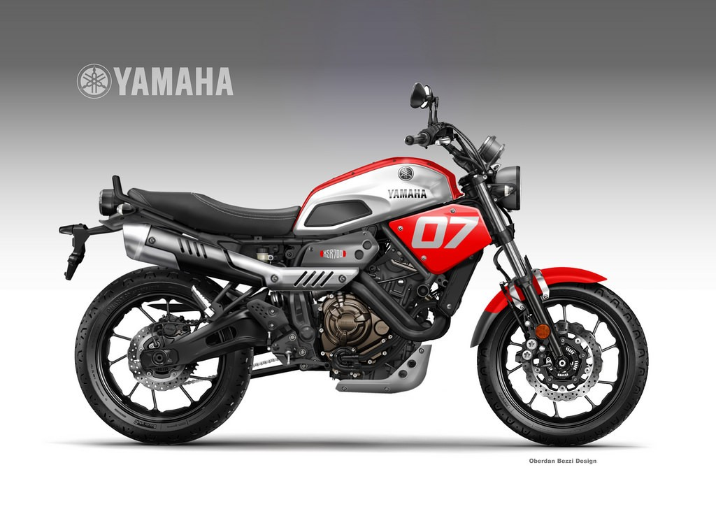 Yamaha XSR700 Coolest Brother American Roadster