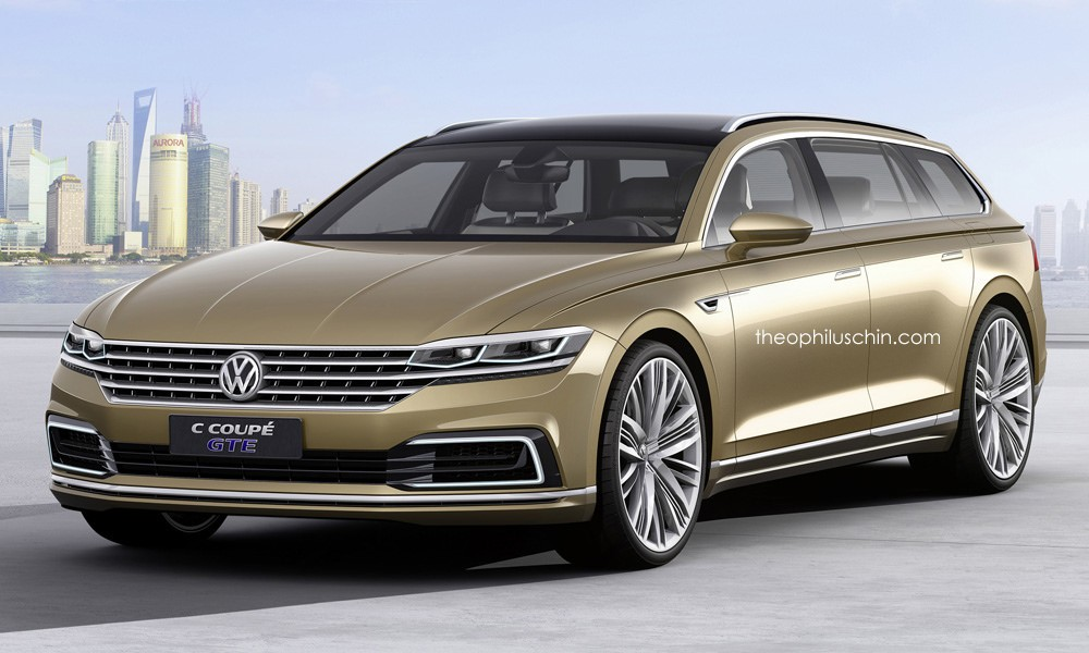 Would You Fancy a Volkswagen Phaeton Variant Looking Like This ...