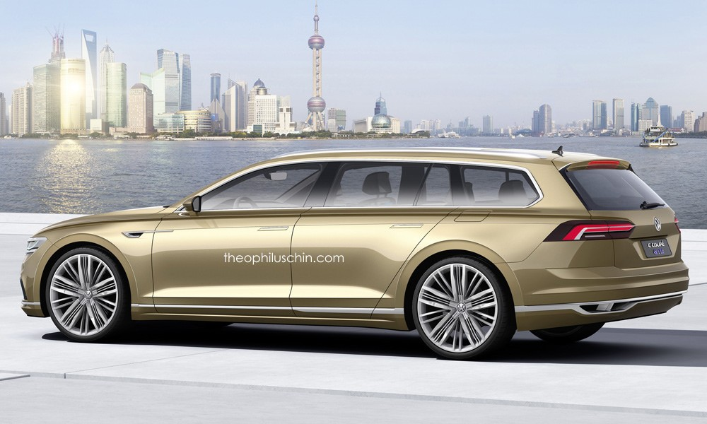Would You Fancy A Volkswagen Phaeton Variant Looking Like