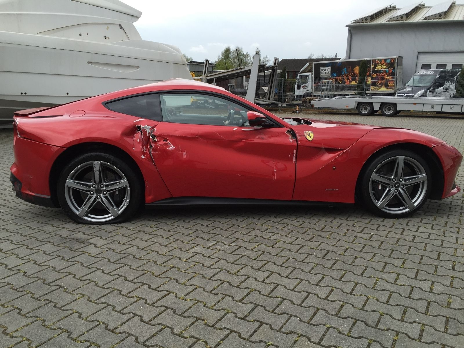 Would You Pay €77,000 for Half a Ferrari F12 Berlinetta