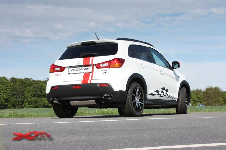 x-race germany tunes mitsubishi asx rs - autoevolution