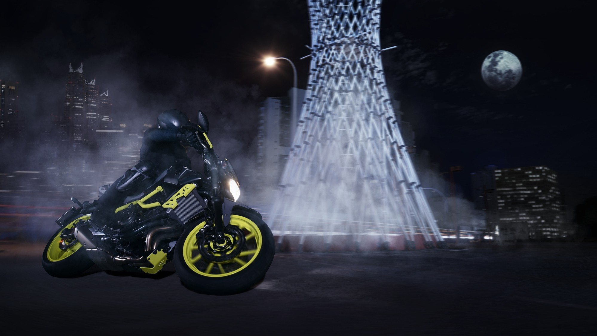 Better Way Auto >> Yamaha Adds Night Fluo to More MT Bikes, Shows the MT-07 Moto Cage - autoevolution
