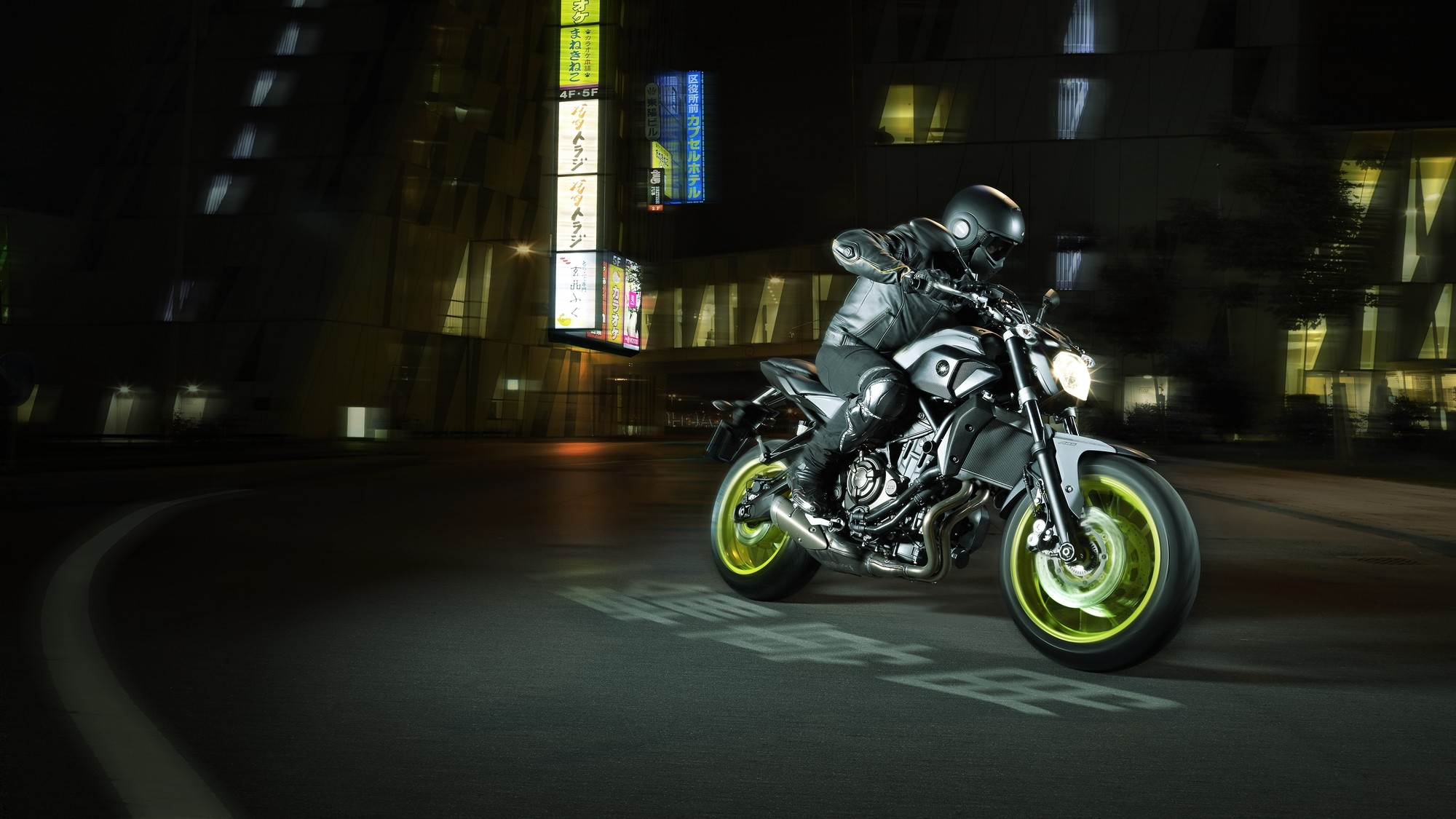 Yamaha Adds Night Fluo to More MT Bikes, Shows the MT-07 Moto Cage - autoevolution