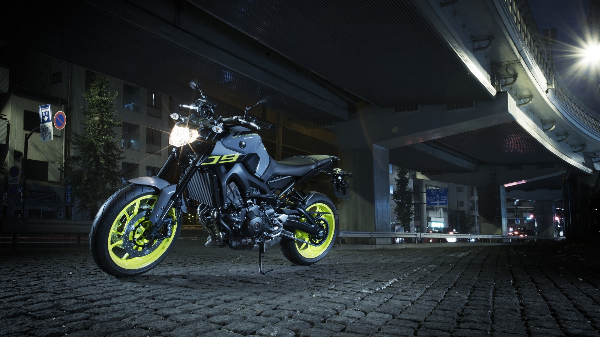Yamaha Adds Night Fluo to More MT Bikes, Shows the MT-07 Moto Cage ...