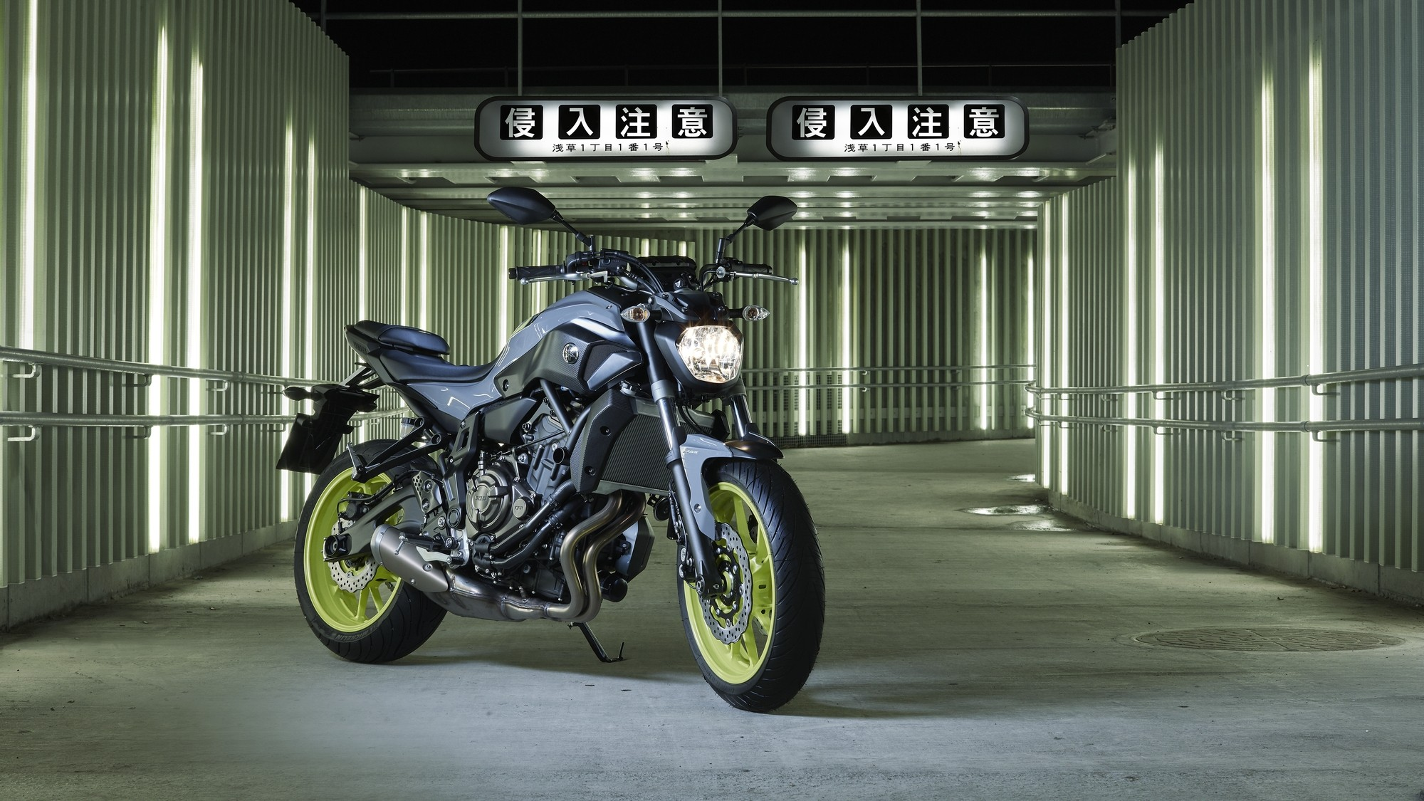 Yamaha Mt 09 Wallpaper Hd 29 Images On Genchi Info: Yamaha Adds Night Fluo To More MT Bikes, Shows The MT-07