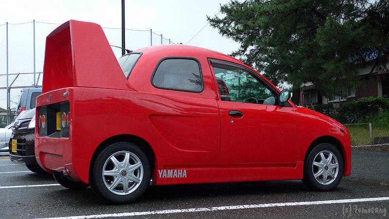 Yamaha Ami Kei Car Thinks It S A Ferrari F40 Autoevolution