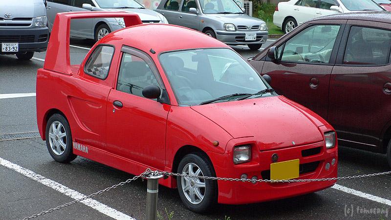Vans Auto Sales >> Yamaha AMI: Kei Car Thinks It's a Ferrari F40 - autoevolution