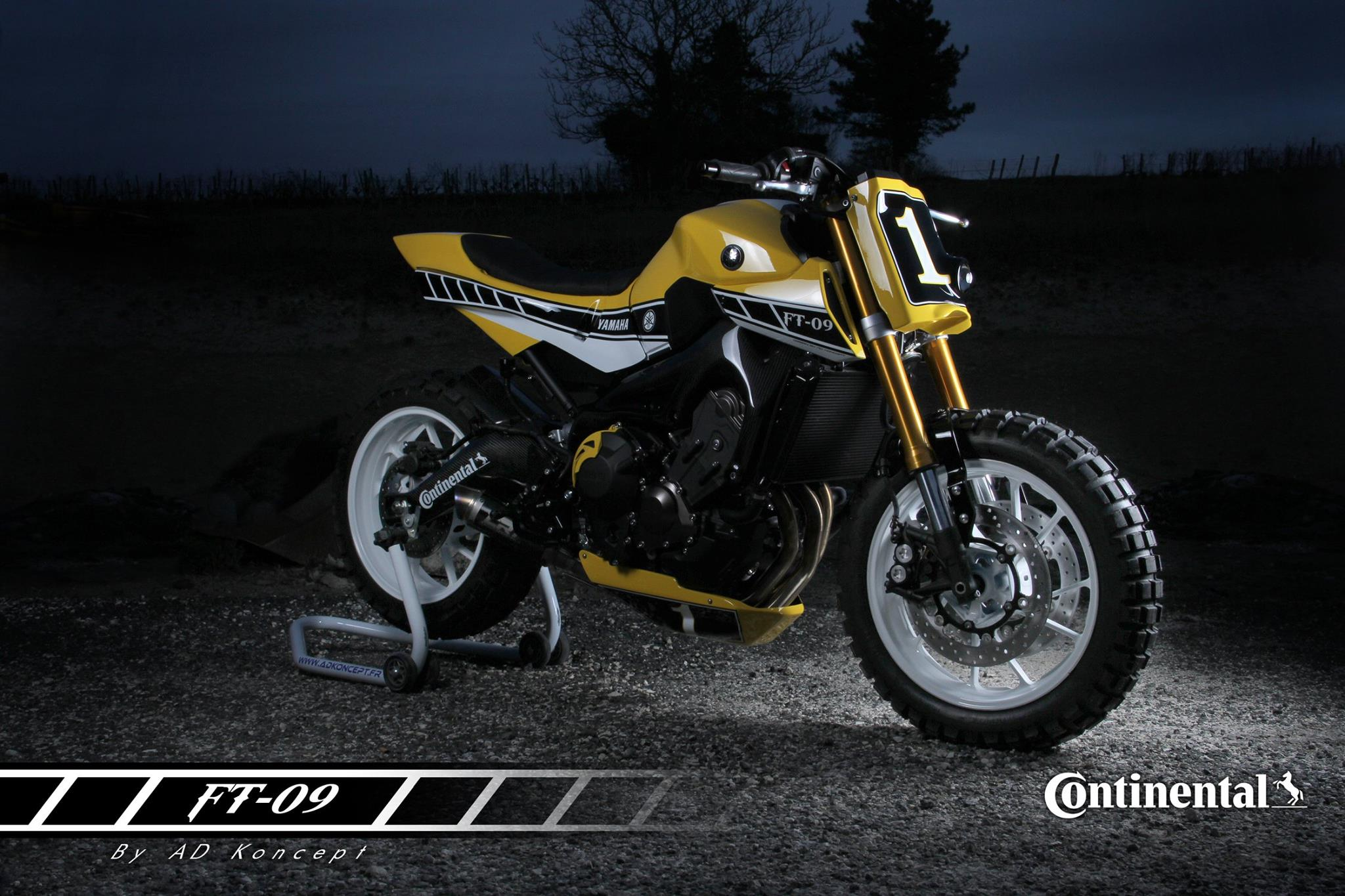 Yamaha Ft 09 Looks Like A Flattracker Fit For Daily Use
