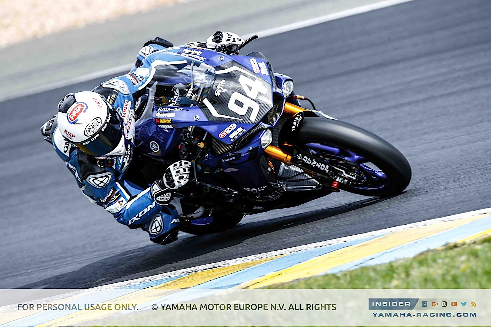 Yamaha has high hopes for 2017 24 heures motos at le mans for Yamaha racing team