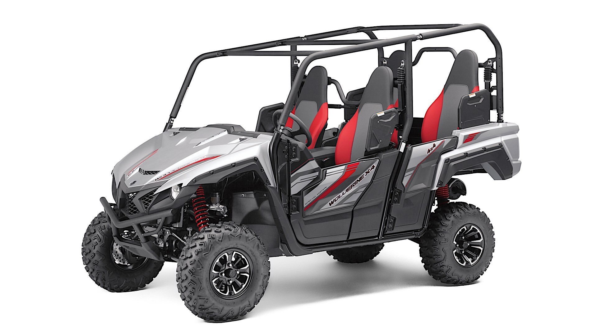 2018 yamaha wolverine x4 side by side carries up to four. Black Bedroom Furniture Sets. Home Design Ideas