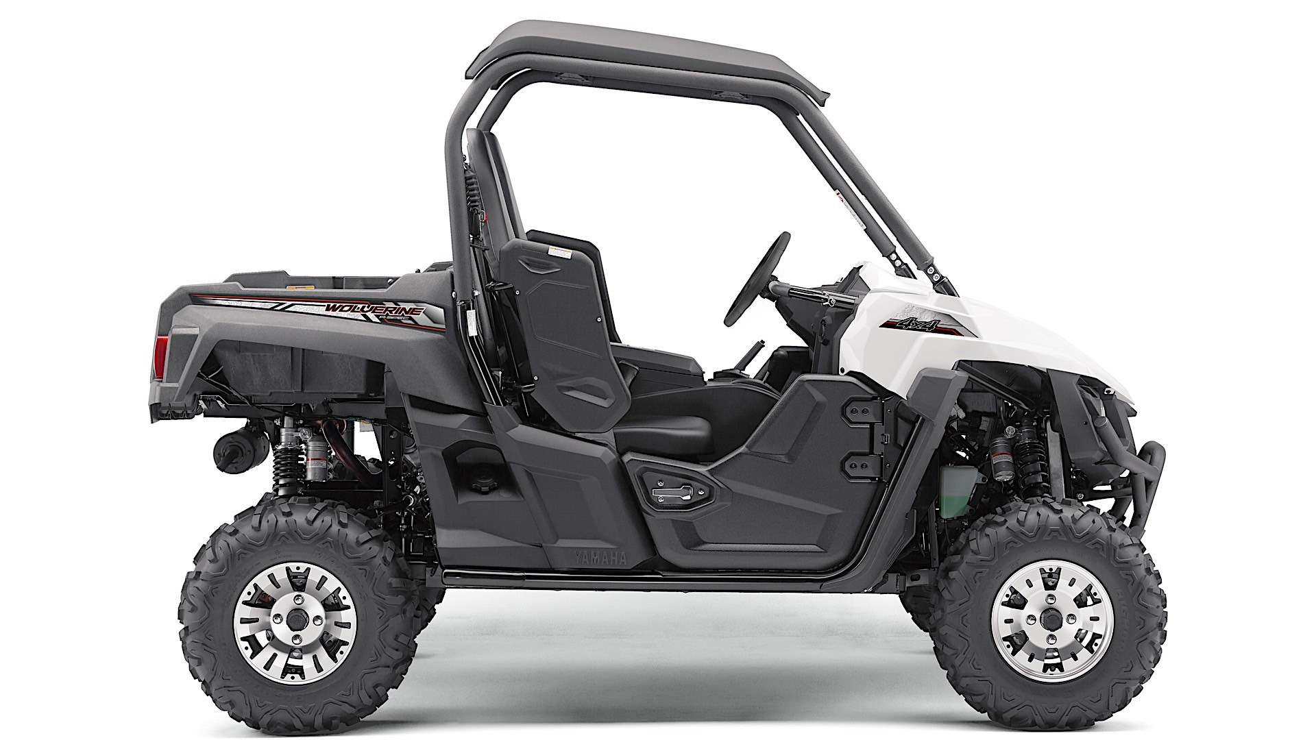 2018 yamaha wolverine x4 side by side carries up to four adventurers autoevolution. Black Bedroom Furniture Sets. Home Design Ideas