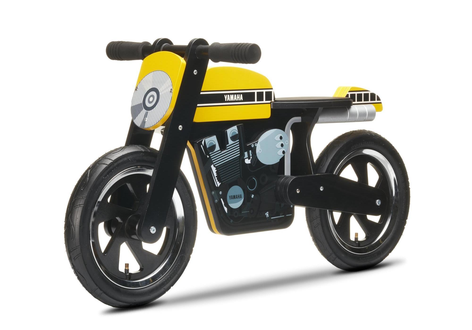 Yamaha Kids Cafe Racer Balance Bike Also Comes In 60th