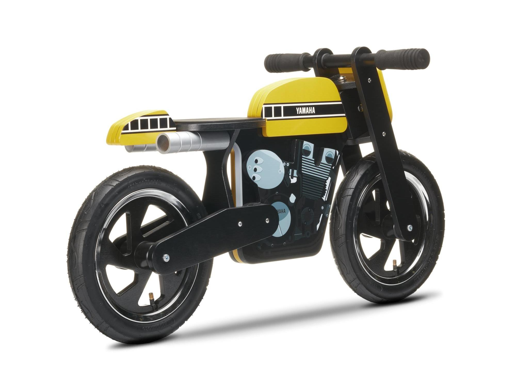 Yamaha Kids Cafe Racer Balance Bike Also Comes In 60th