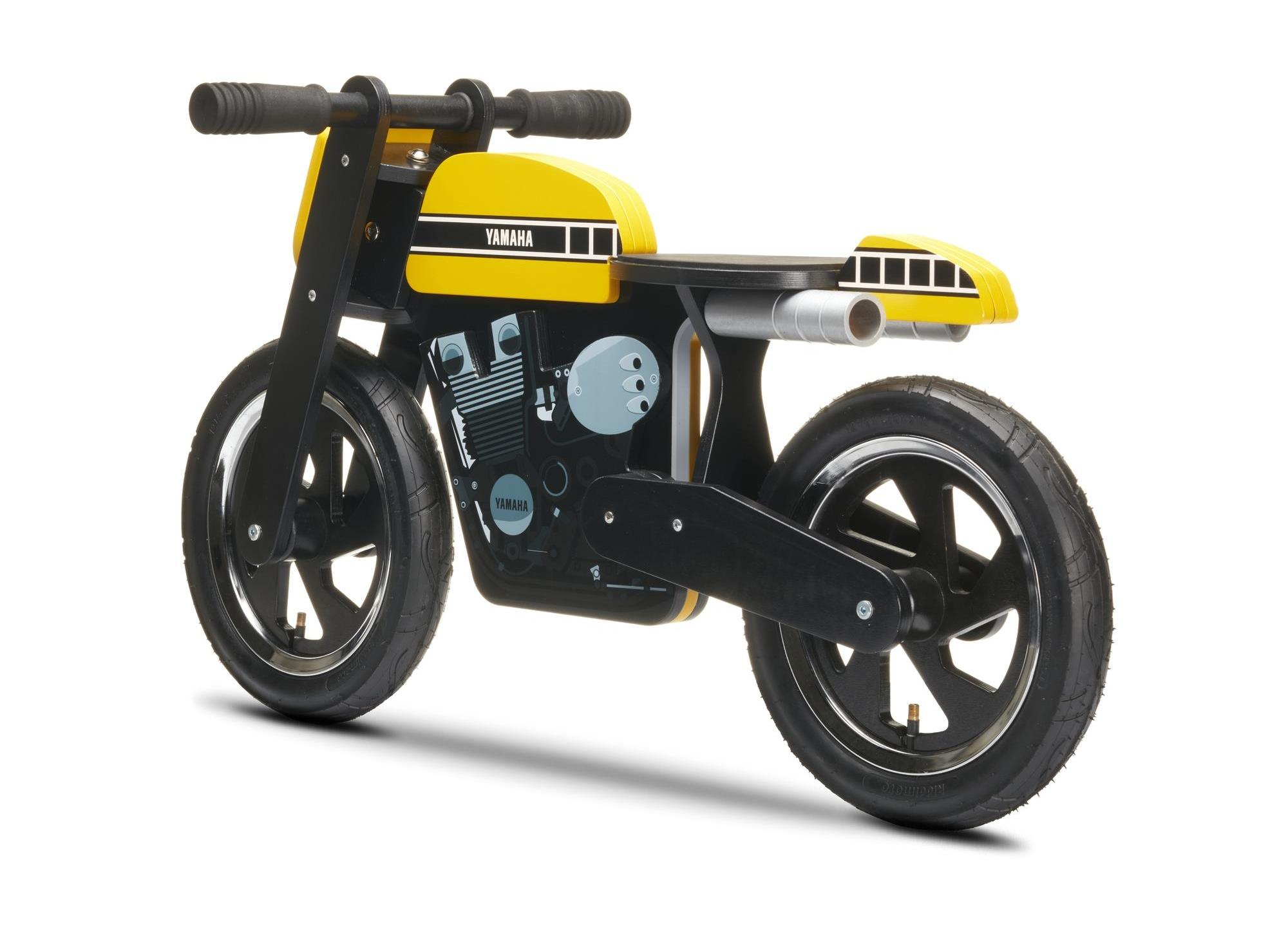 Yamaha Kids Cafe Racer Balance Bike Also Comes in 60th Anniversary Livery - autoevolution