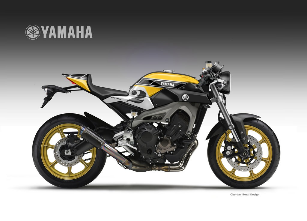 Yamaha Mt 09 Faster Sons Imagined In Roberts Agostini And