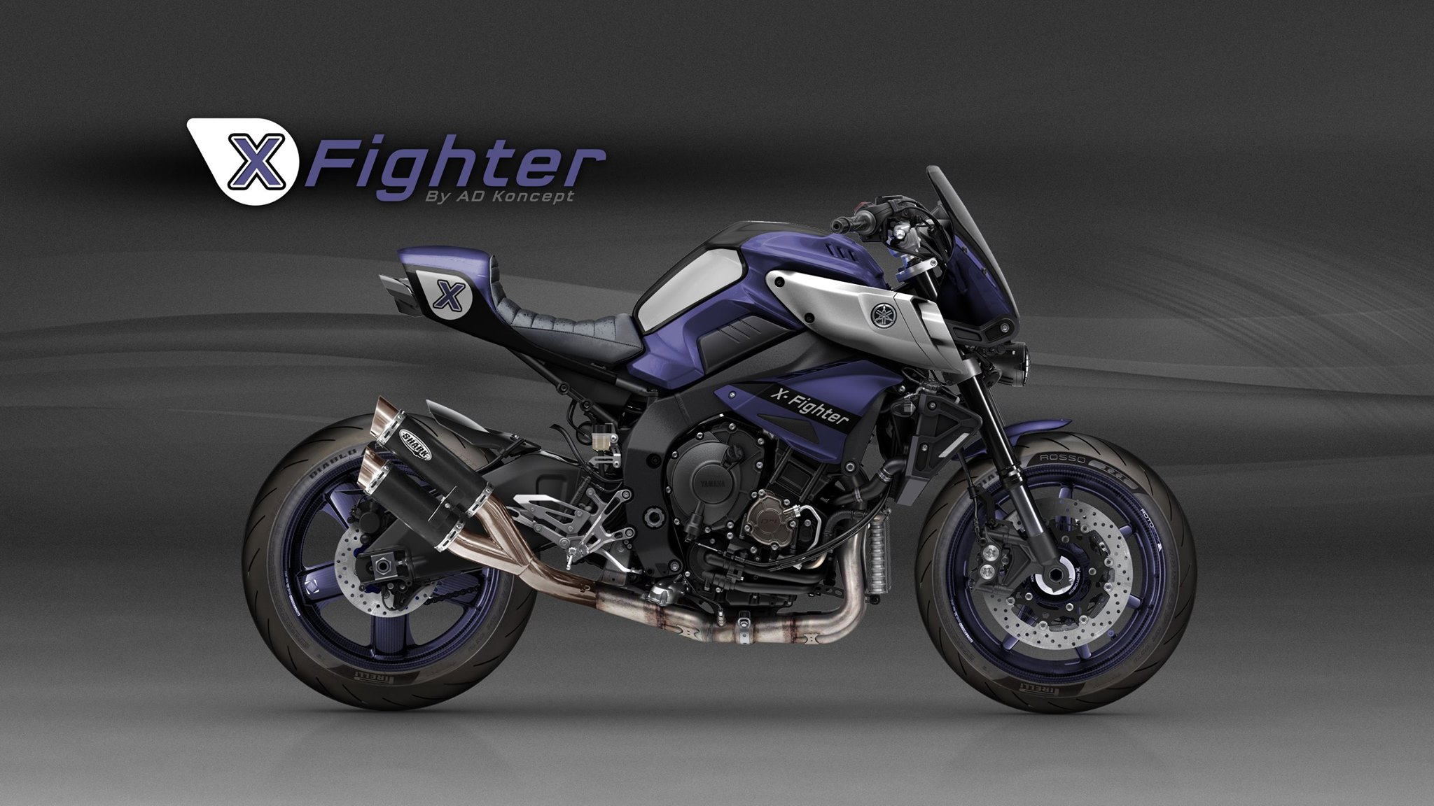 Yamaha Mt 10 In Valentino Rossi Livery And More From Ad