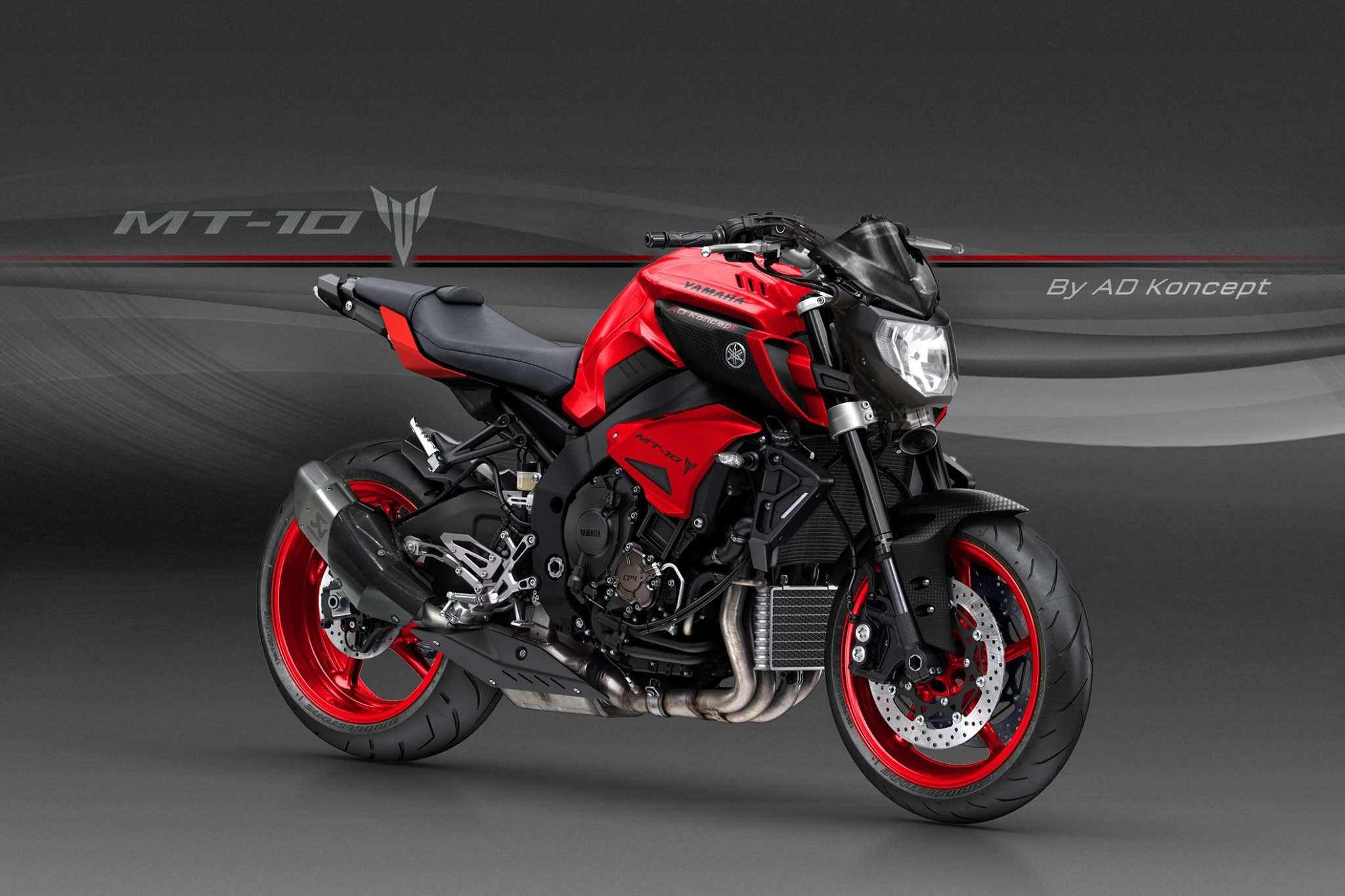 Yamaha MT-10 in Valentino Rossi Livery and More from AD Koncept ...