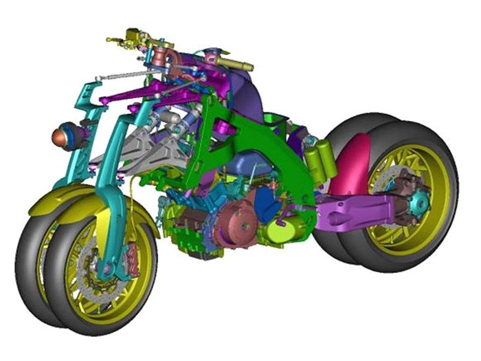 Yamaha Or2t Is A 4 Wheeled Motorcycle From Another World