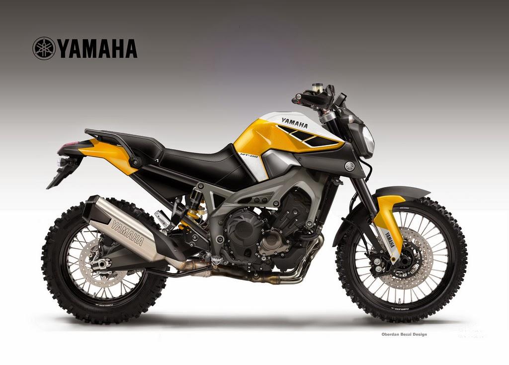Yamaha Please Make The Mt 09 Triple Cross Over A Real Bike Autoevolution