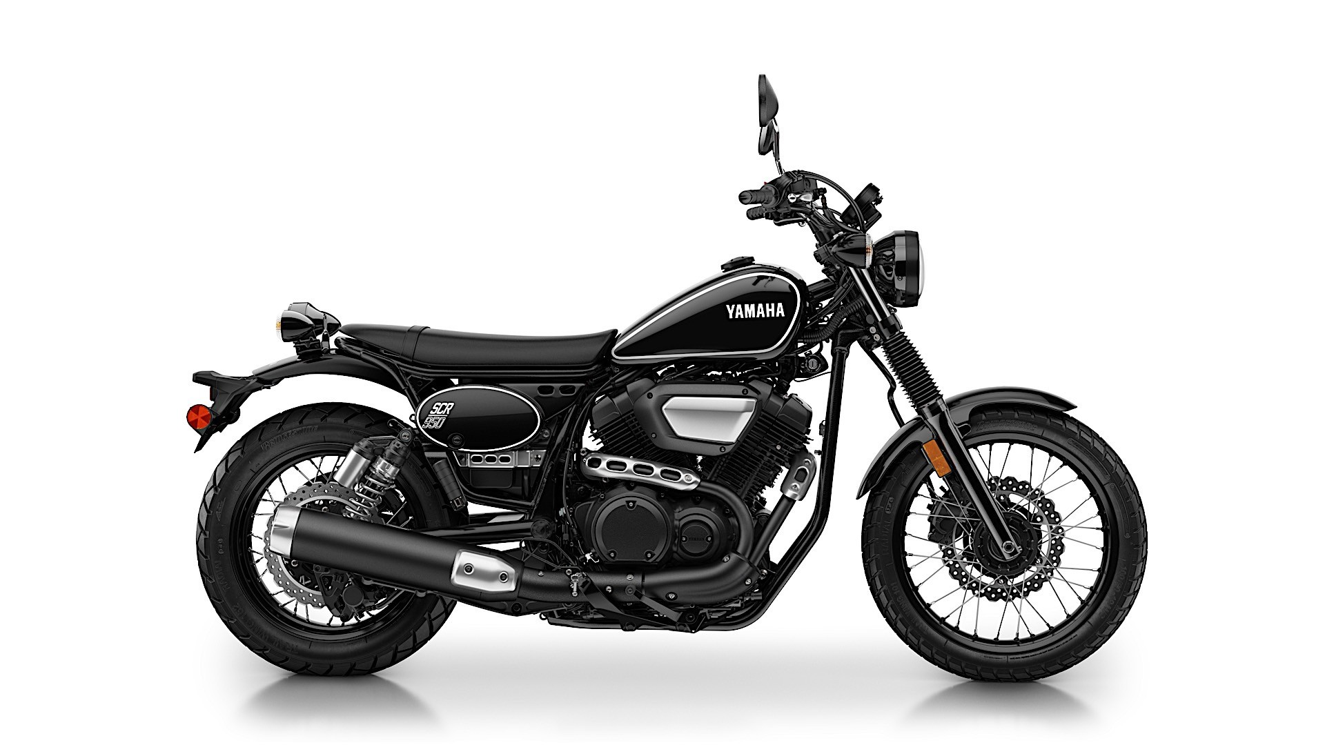 Yamaha Puts 2017 SCR950 Street Scrambler On the Table ...