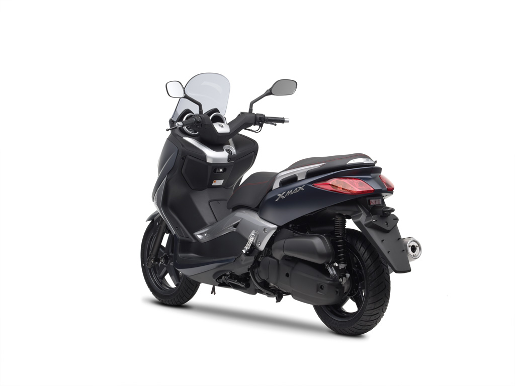 yamaha reveals 2010 x max 250 and 125 scooters autoevolution. Black Bedroom Furniture Sets. Home Design Ideas