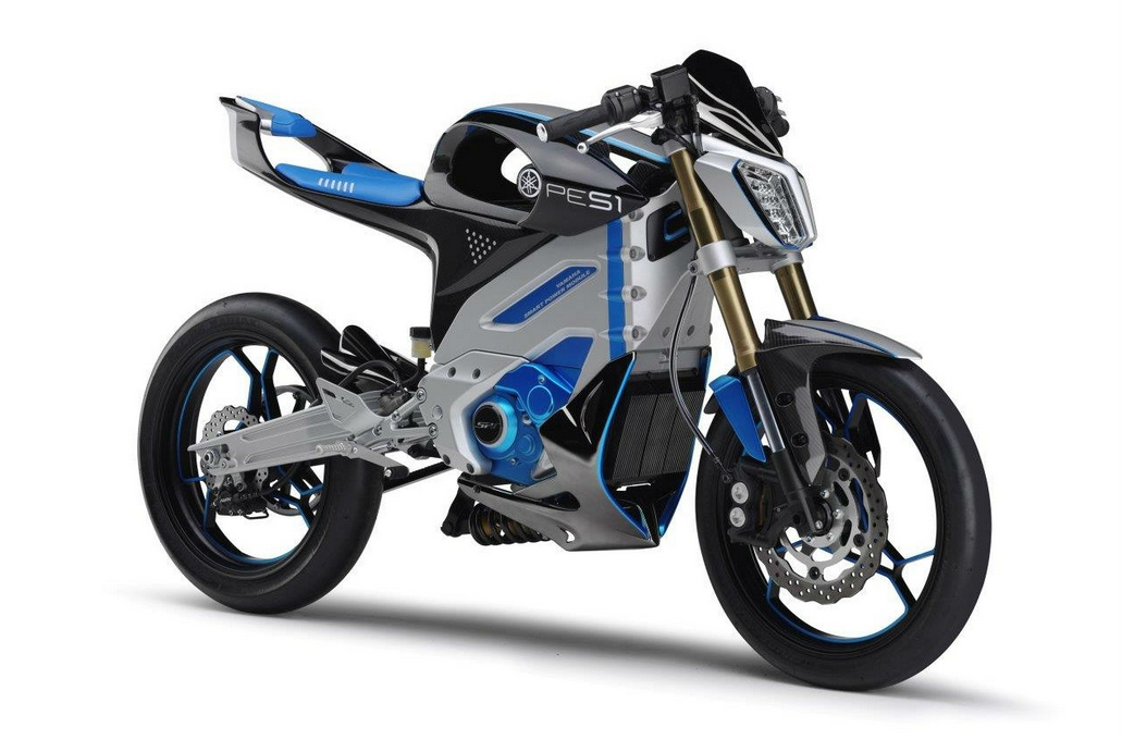 Yamaha Electric Motorcycle Ped