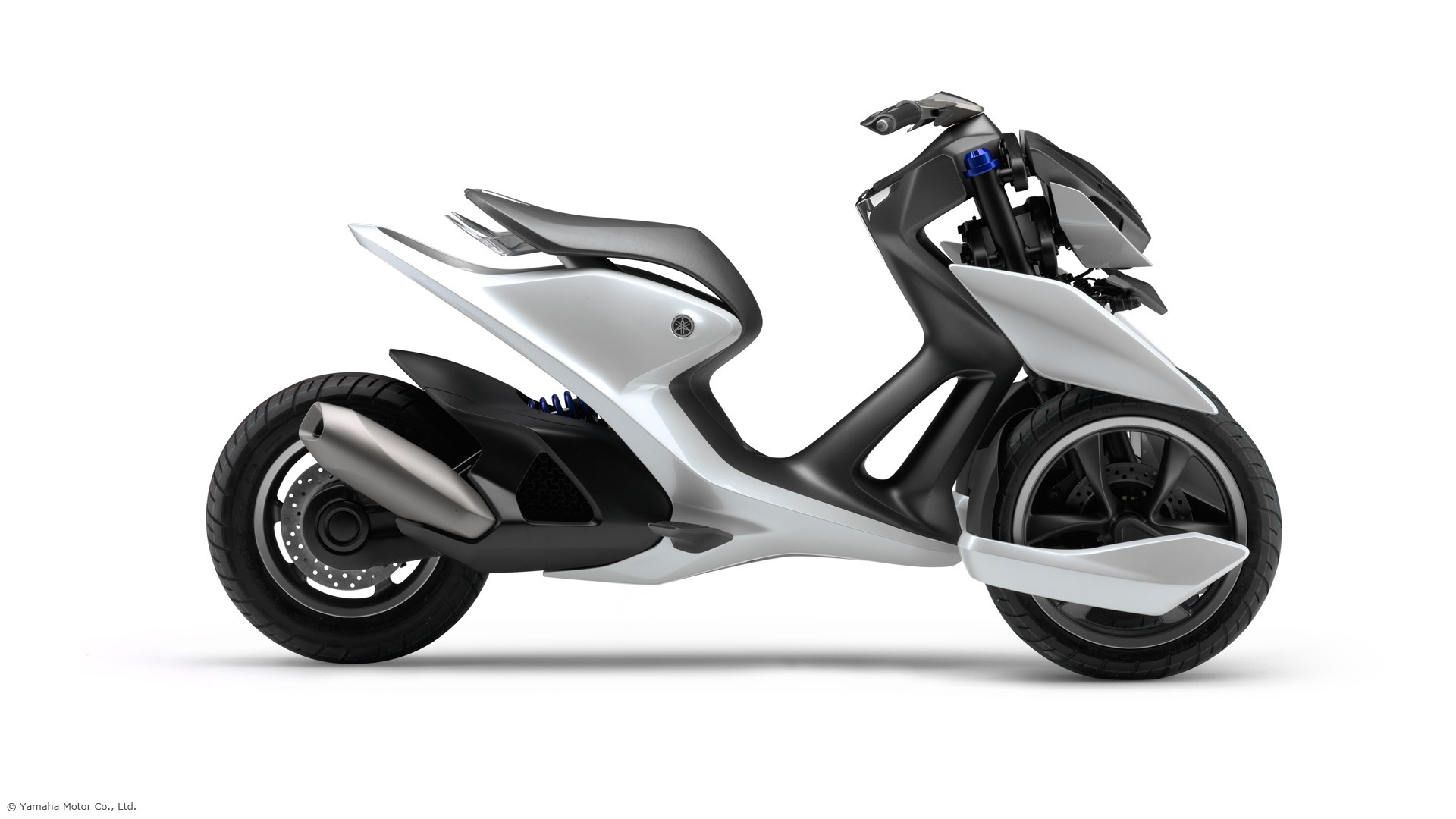 yamaha shows 03gen three wheeled scooter concepts. Black Bedroom Furniture Sets. Home Design Ideas