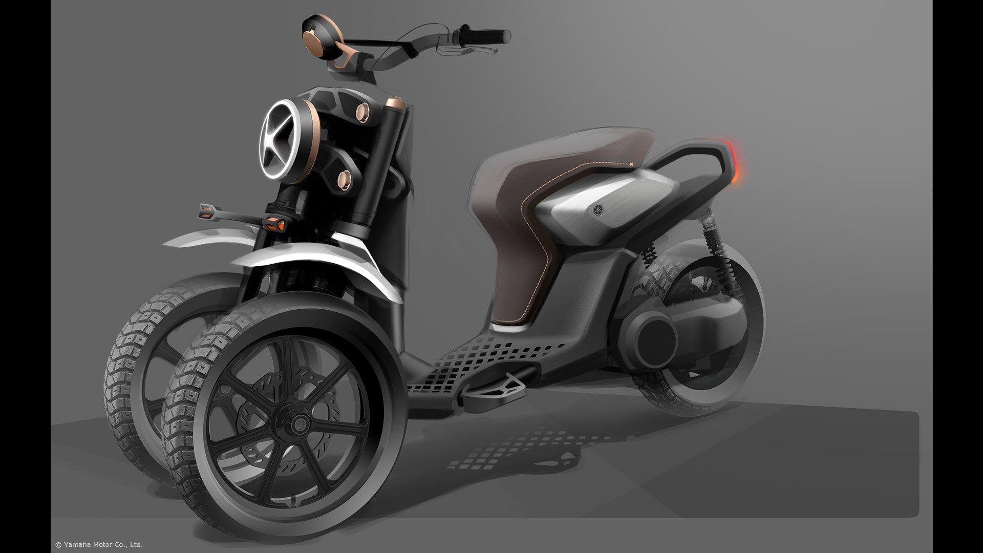 Yamaha Shows 03GEN Three-Wheeled Scooter Concepts ...