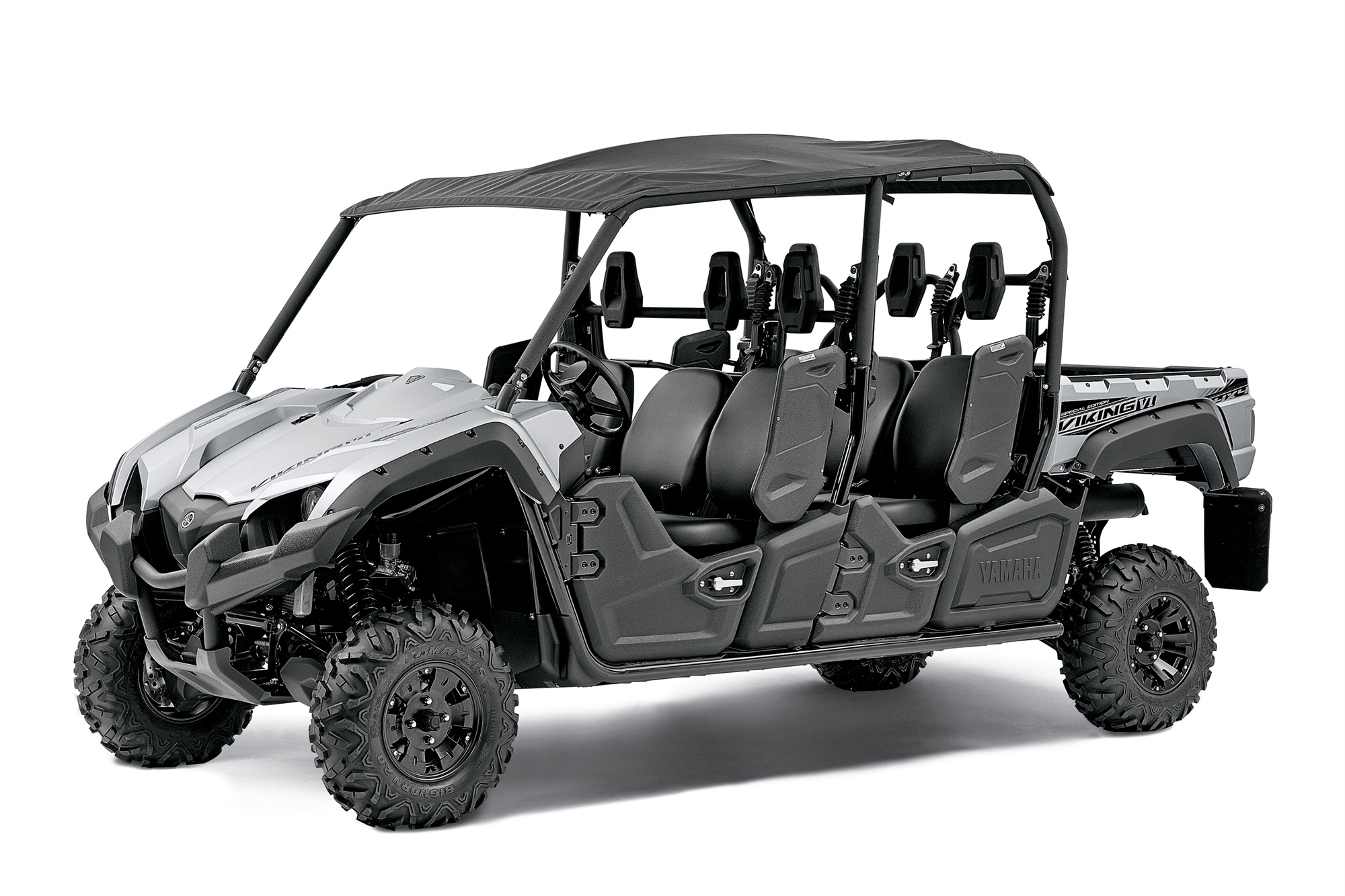 Yamaha shows the 2014 viking vi 6 seater sxs autoevolution for Yamaha side by side 4 seater