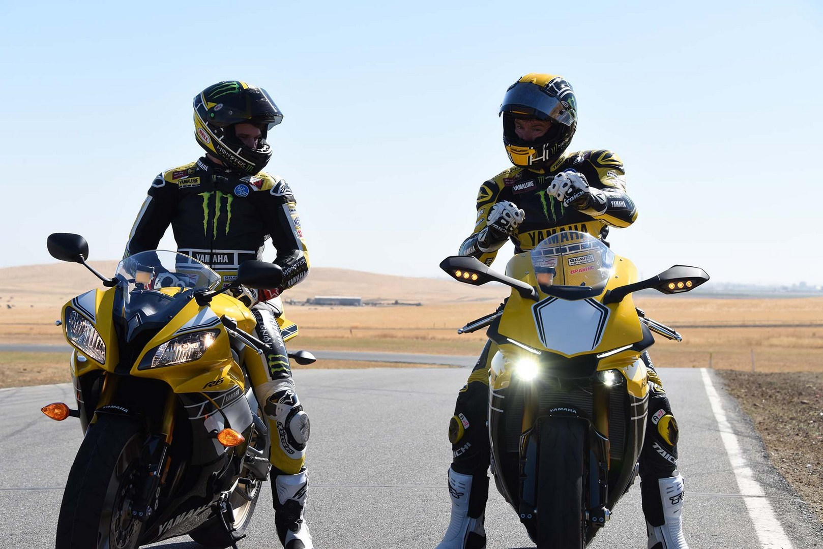 R1 And R6 In 60th Anniversary Livery