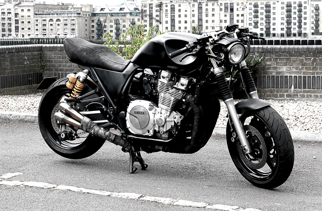 Honda Latest Models >> Yamaha XJR1300 Dark Roadster by Wisdom Wood - autoevolution