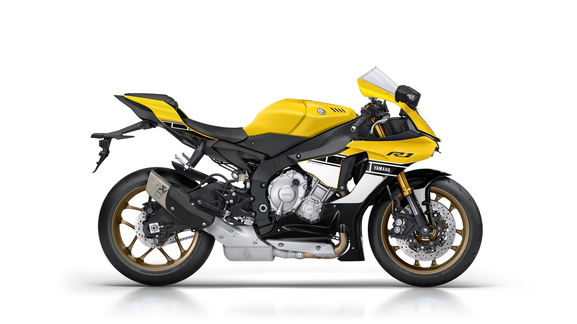 R1 Wiring Diagram 2014 Yzf Wire 2003 Fuel Injection Yamaha 1999 60th Anniversary Edition Shows A Timeless Yellow Black On