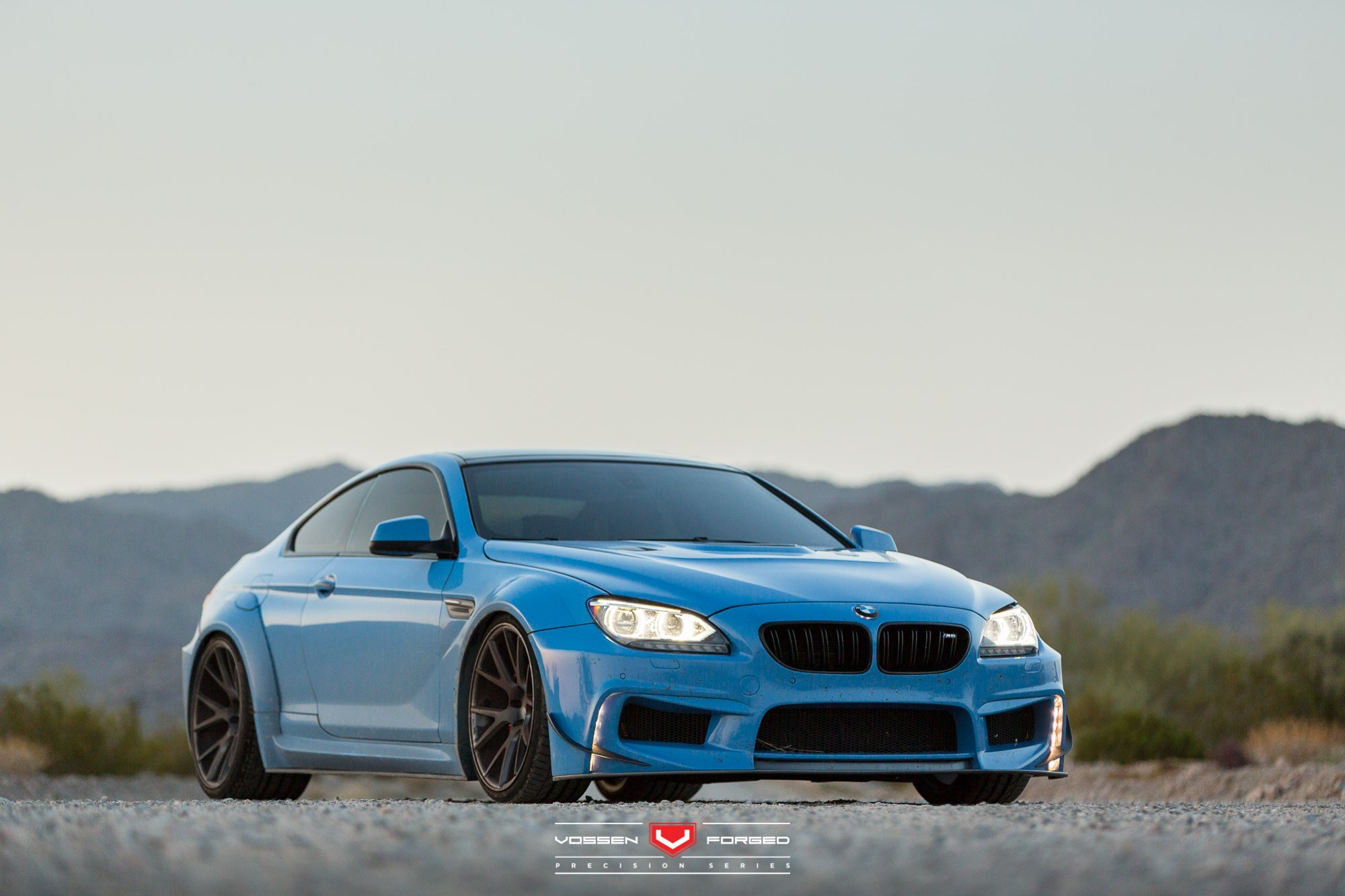 Yas Marina Blue Bmw 650i With Prior Widebody Kit And Vossen Wheels Autoevolution
