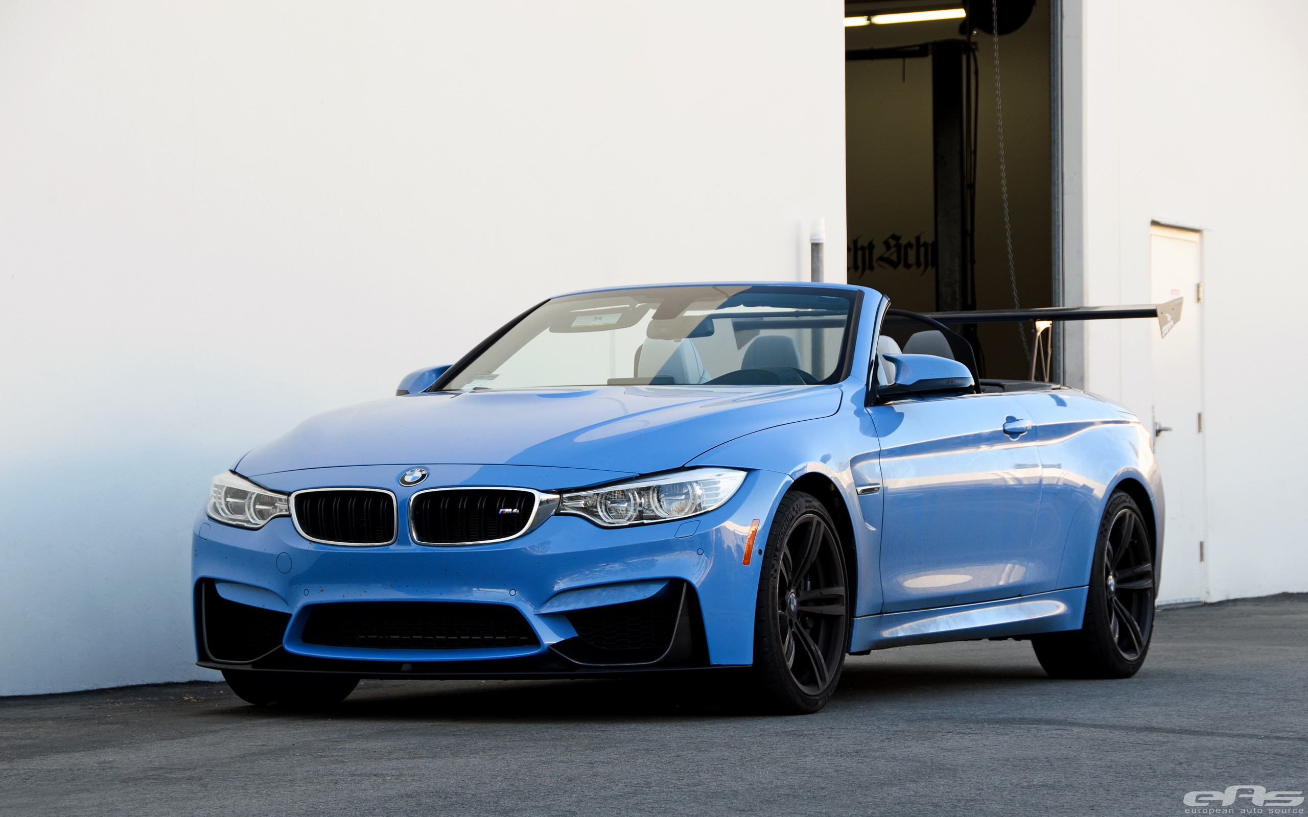 blue convertible bmw m4 - photo #7