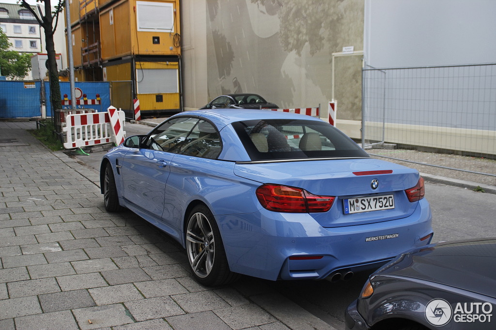 blue convertible bmw m4 - photo #35