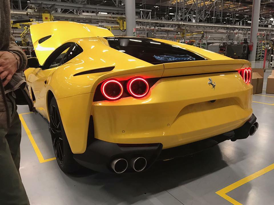 Yellow Ferrari 812 Superfast Looks Bewitching In First