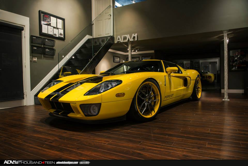 Yellow Ford Gt On Adv Wheels Is Cooler Than Everything Photo Gallery on 2014 Ford Focus Battery