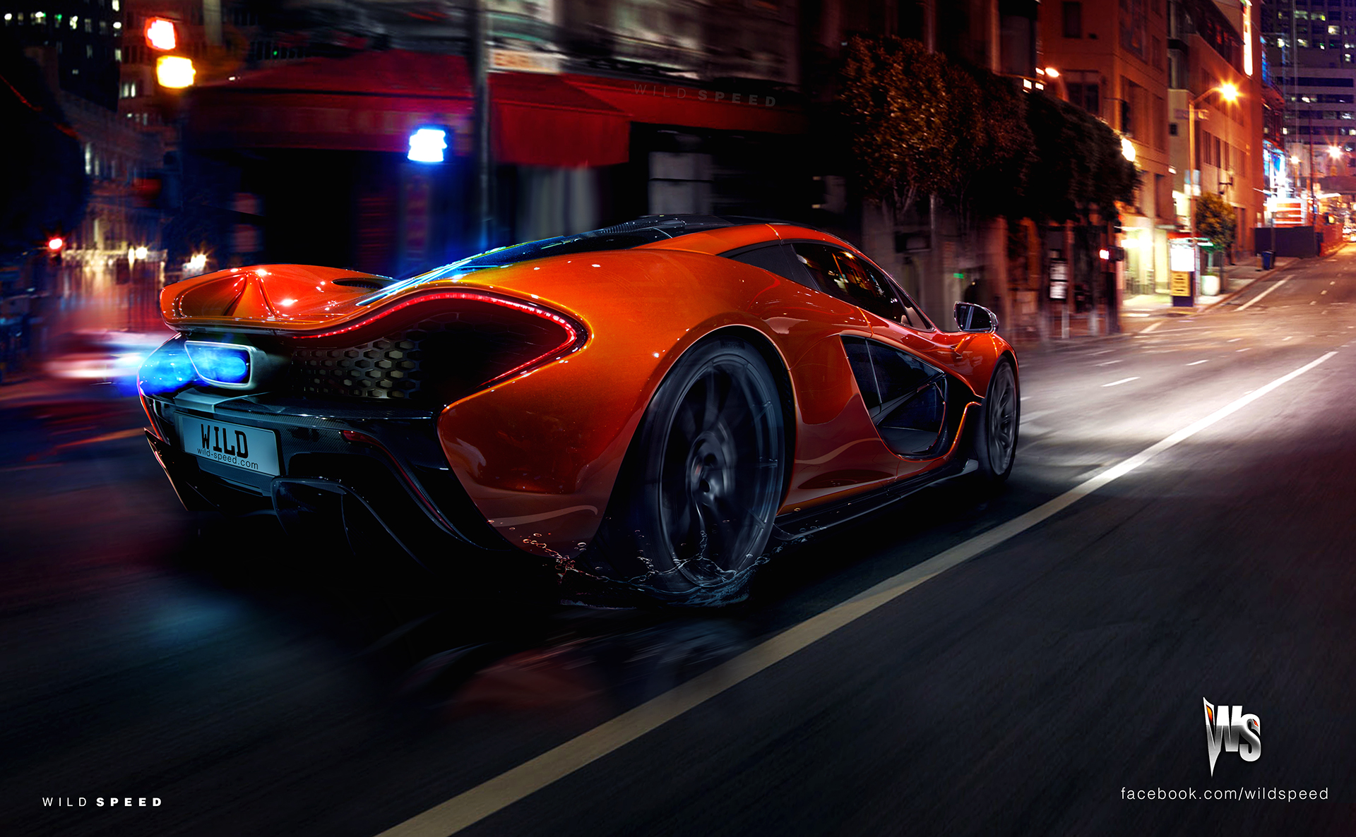 Yellow Mclaren P1 Spitting Flames Looks Extreme