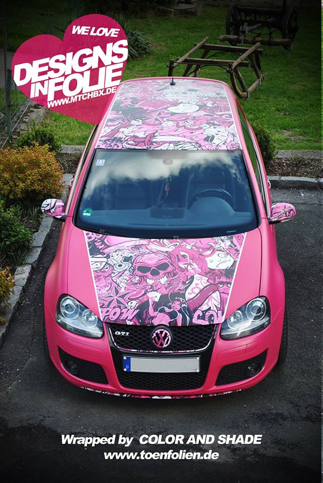 Yes This Is A Pink Vw Golf Gti Autoevolution
