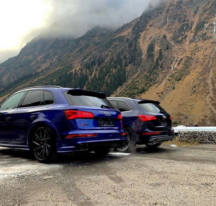 Yes, You Can Snow-Drift An Audi SQ5