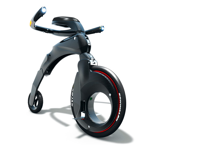 YikeBike Electric Penny Farthing Now Available - autoevolution