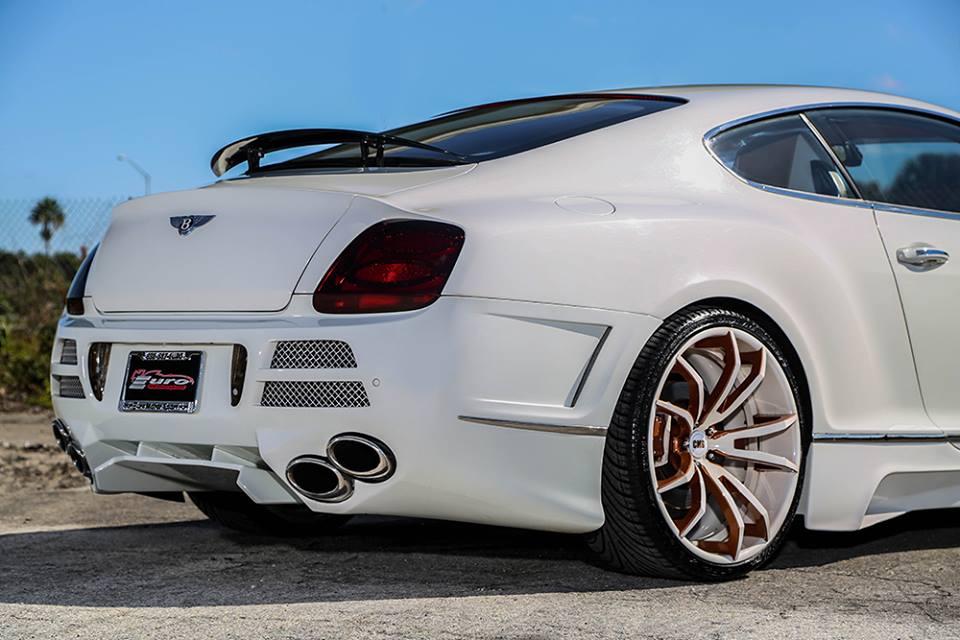 Yo Gotti S Bentley Continental Gt Sits On Flashy Forgiatos