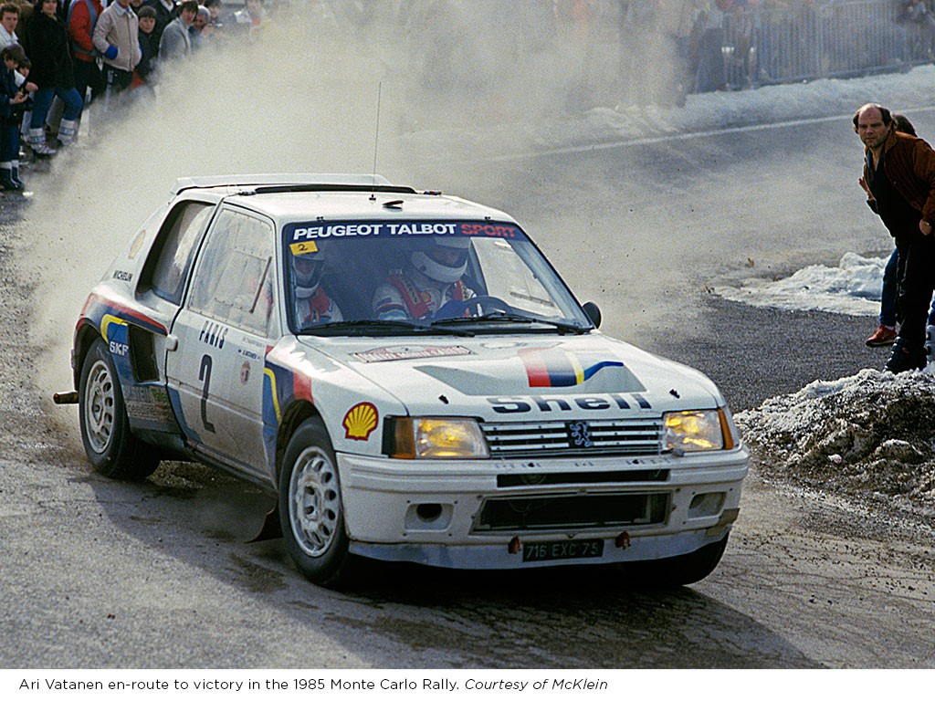 you can bid on the peugeot 205 t16 group b rally car driven by ari vatanen autoevolution. Black Bedroom Furniture Sets. Home Design Ideas