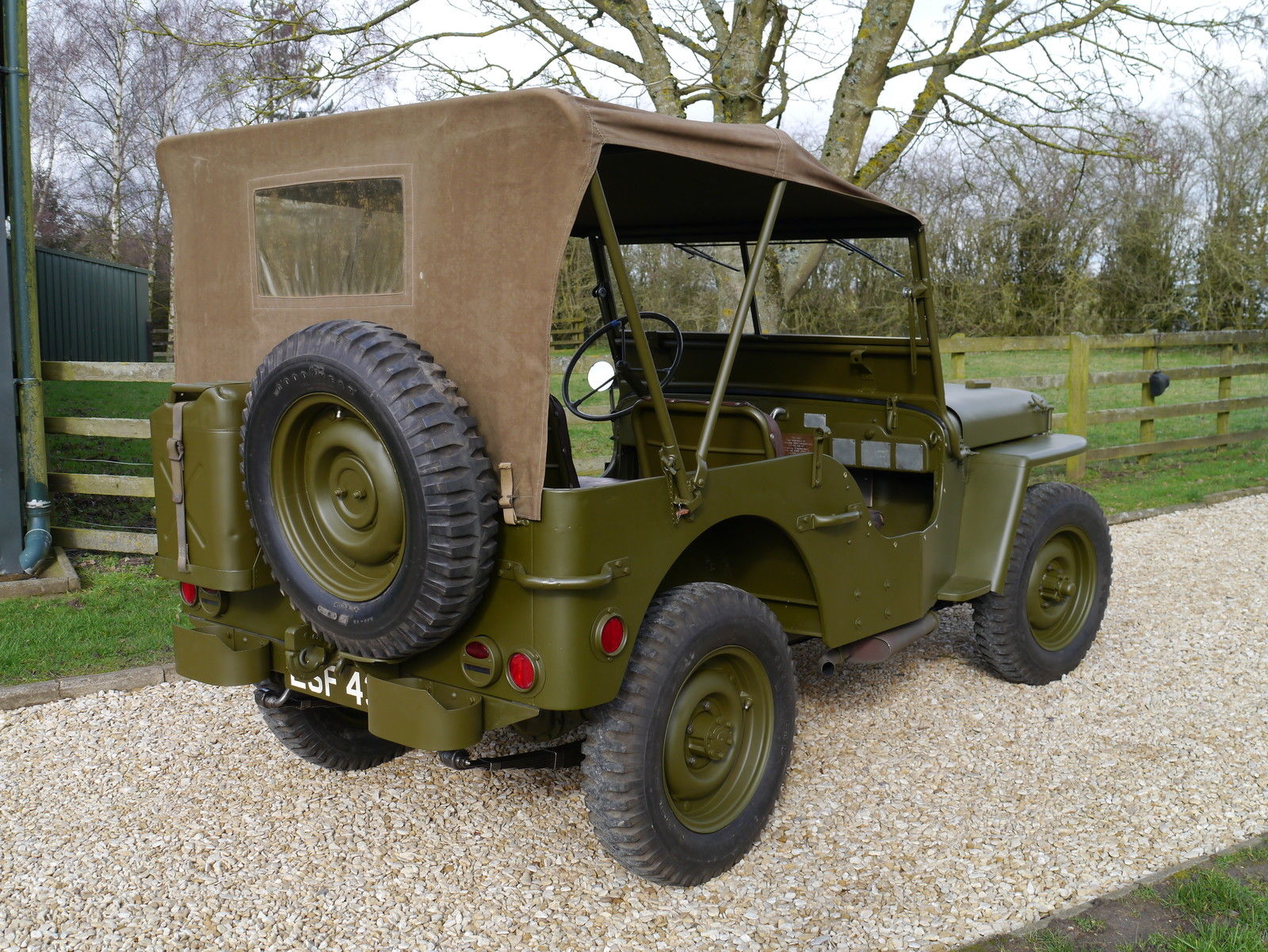you can buy dwight eisenhower s willys jeep for 750k on. Black Bedroom Furniture Sets. Home Design Ideas