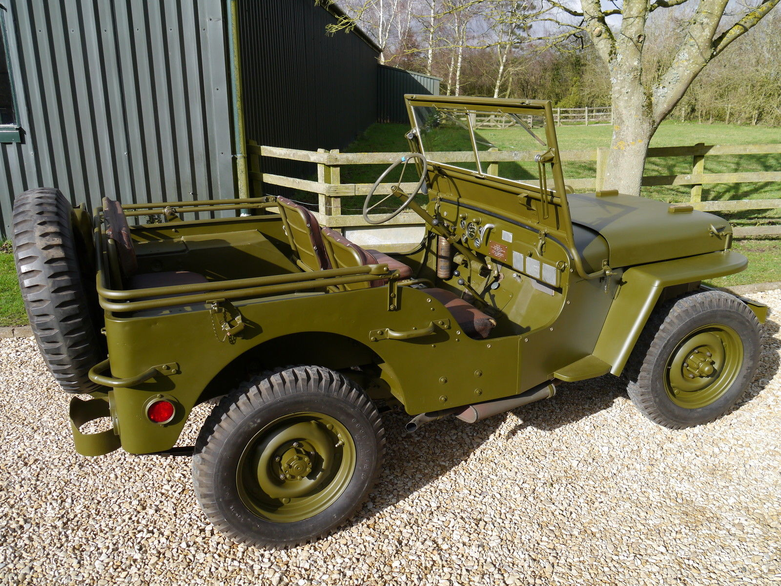 You Can Buy Dwight Eisenhower s Willys Jeep for $750k on eBay
